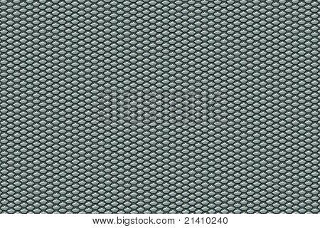 Aluminium Pentagon Texture