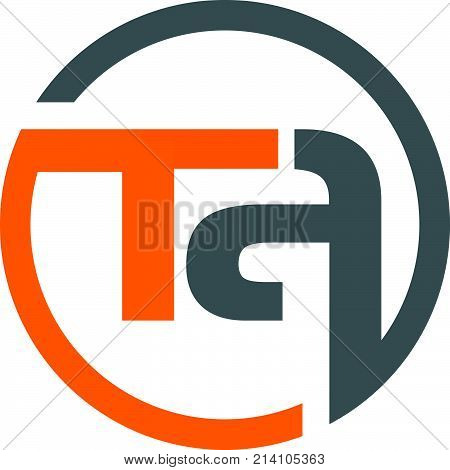 Letter T A Logo Design Template Vector