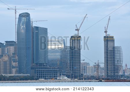 Baku is the capital of the Republic of Azerbaijan the largest industrial economic and scientific and technical center of Transcaucasia as well as the largest port on the Caspian Sea and the largest city in the Caucasus