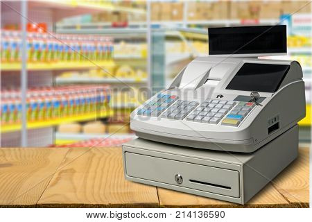 Display cash lcd register background money object