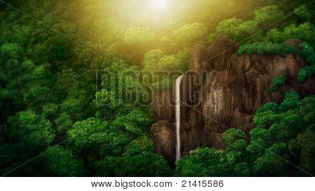 Dschungel Baldachin