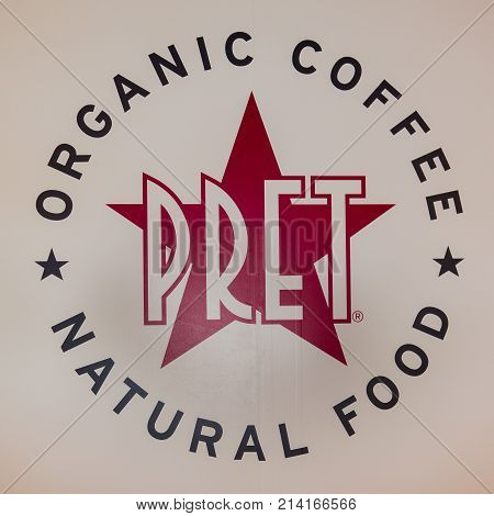 Pret a Manger Sandwich retail chain based in the United Kingdom Copenhagen September 13 2017