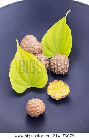 Air Potato Herb (scientific Name Is Dioscorea Bulbifera)