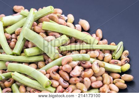Fresh Cow Pea Ready For Cooking