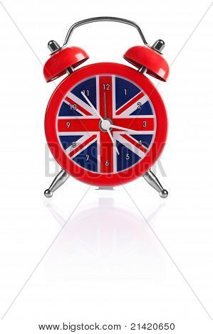 British flag alarm clock