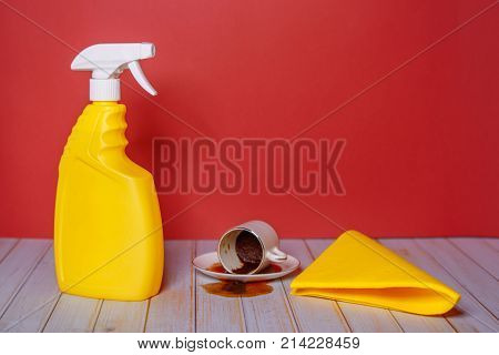 Image of accessories for clean rooms and cleaning of premises.