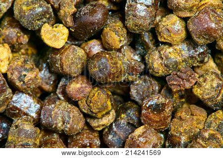 Propolis Granules Texture, Bee Product