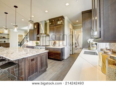 Luxury Kitchen In A New Construction Home