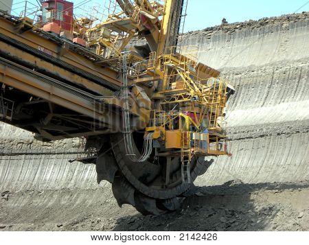 Mining Machine In Action