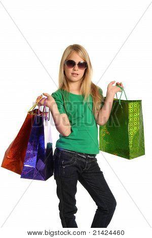 Pretty Shopping Kid