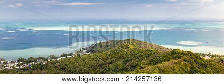 Kaneohe Sandbar Panorama