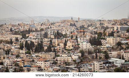 Jerusalem Cityscape Israel