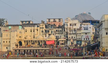 Cityscape Of Pushkar, India