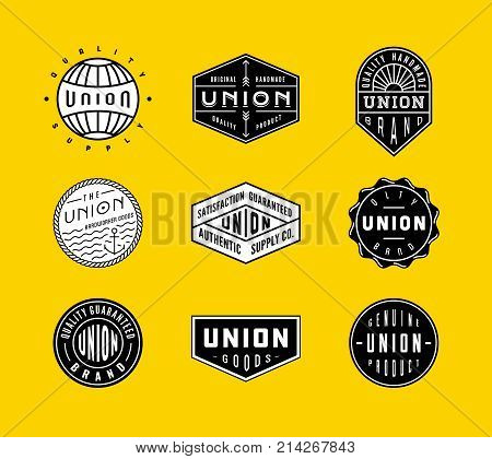 Vintage Logo & Badges 2. perfect for identity, logo, insignia or badge design with retro vintage looks. it is also good for print design such clothing line, merchandise etc.