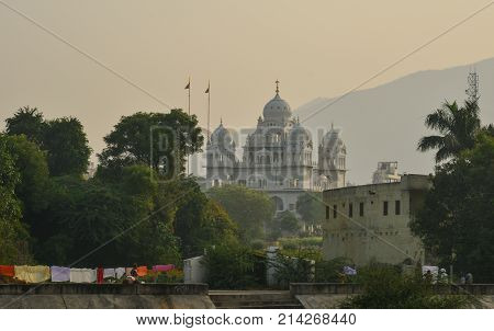 Hindu Temple In Pushkar, India