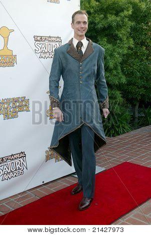 BURBANK, CA - JUNE 23: Doug Jones  arrives at the 37th annual Saturn awards on June 23, 2011 at The Castaways restaurant in Burbank, CA
