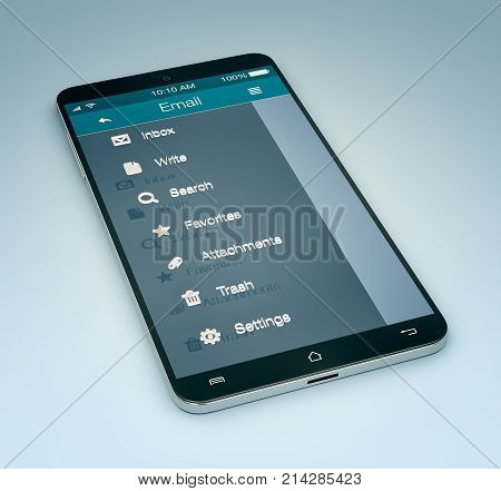Email Mobile App