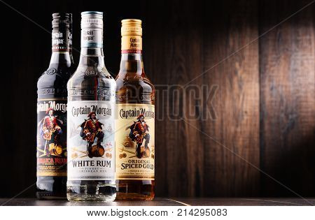 Bottles Of Captain Morgan Rum