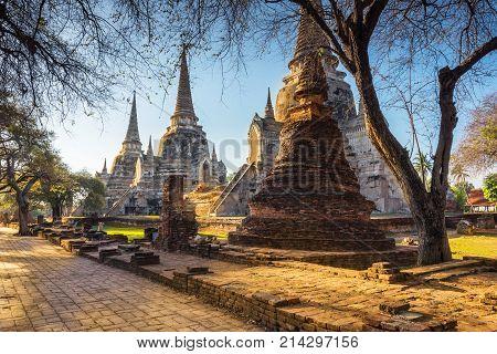 Ayutthaya Historical Park Phra Nakhon Si Ayutthaya Ayutthaya Thailand
