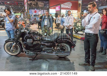 Moto Guzzi Eldorado On Display