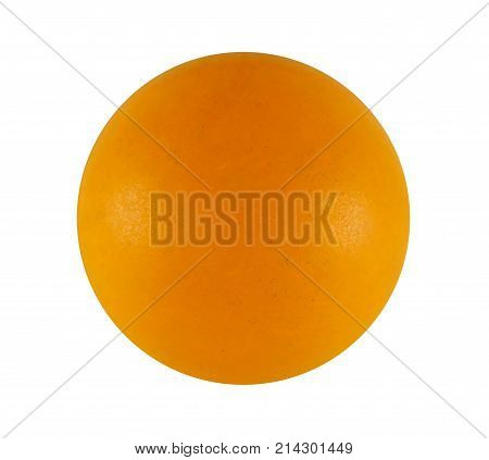 Ping pong ball isolated on white background with Clipping Path