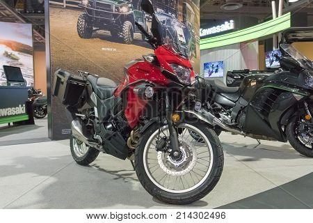 Kawasaki Versys On Display
