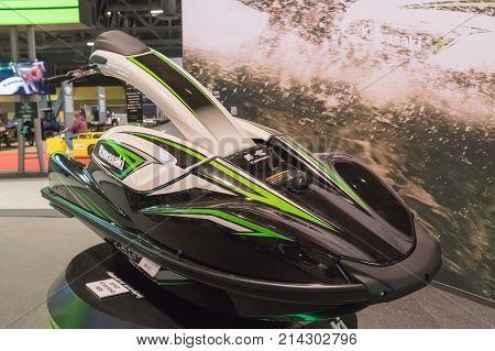 Kawasaki Jet Ski Sxr On Display