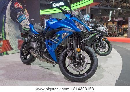 Kawasaki Ninja 650 On Display