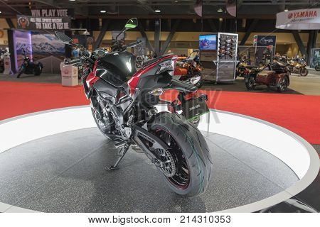 Kawasaki Z On Display