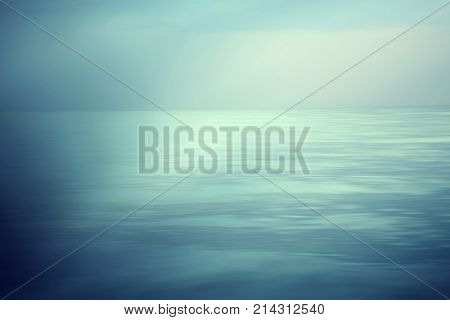 Tropical sky and ocean, Abstract ocean sunrise background, Abstract natural blur serene