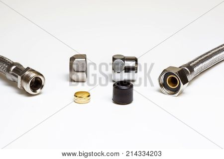 water tap with seal and flexible with rubber seal