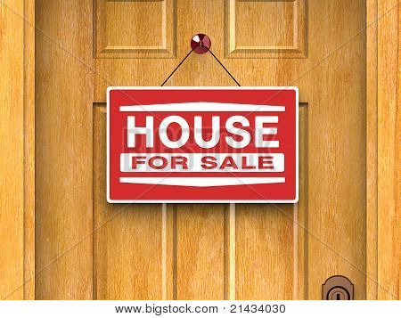 House for sale, Real estate, Home, Door, Advertisement