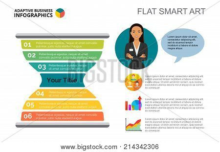 Sandglass chart. Metaphor diagram, graph, layout. Creative concept for infographics, presentation, project, report. Can be used for topics like business, time management, planning