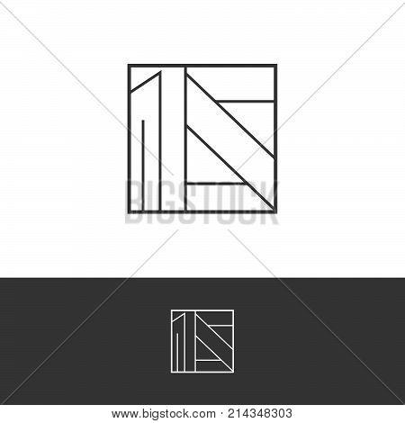 Square logo. Business icon. Ornament emblem. Cosmetics, Spa, Beauty salon, Decoration, Boutique logo. Luxury, Business, Royal Jewelry, Hotel, Premium Logo. Interior Icon. Resort and Restaurant Logo.