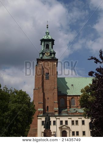 Gniezno Cathedral In The Former Polish Capital