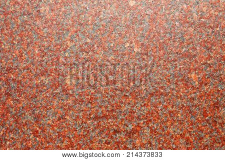 stone granite red colour as background, horizontal
