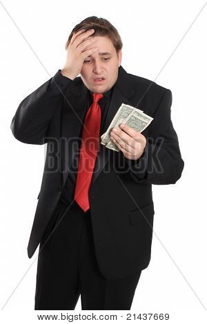 Man With Money Problems