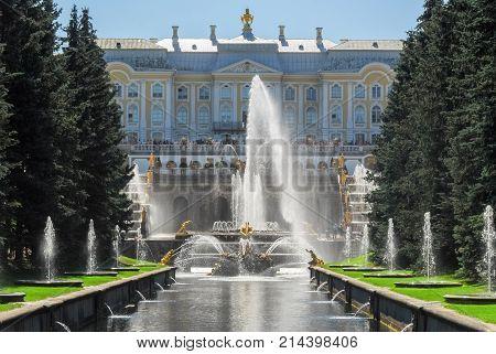 Peterhoff Palace - Saint Petersburg, Russia