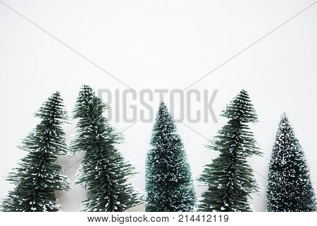 Chirstmas trees with design space background