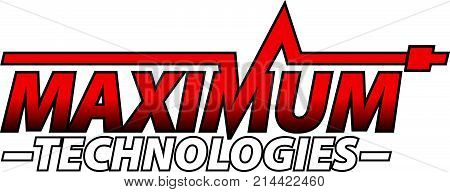 Maximum Technologies Logo Design Template Vector Isolated