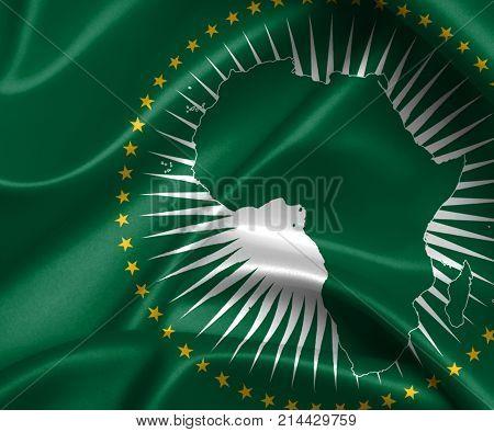 Waving Flag - African Union