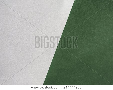 White And Green Paper Texture Background