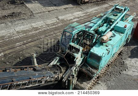 Large Scale Construction Equipment