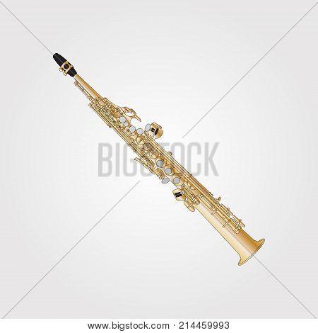Musical Background Series. Classical Aulochrome Soprano Sax.