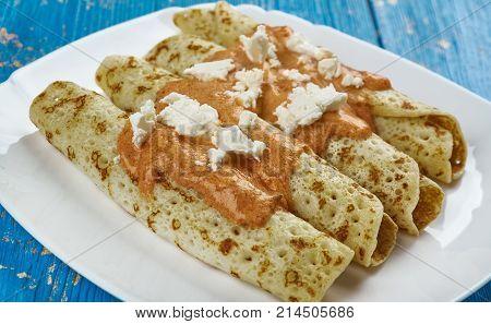 Mexican  Entomatada
