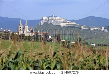 Chapter Spisska and Spissky Castle in Slovakia