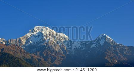 Himalaya Mountains, View From Ghandruk, Nepal