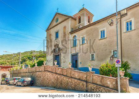 Church Of San Francesco Di Paola, Massa Lubrense, Italy