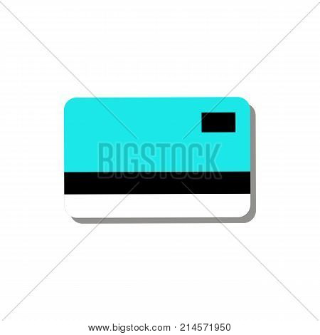 Credit Debit Card Simple Graphic Illustration
