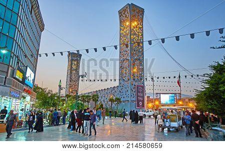 The Neighborhood Of Imam Hossein Square, Tehran